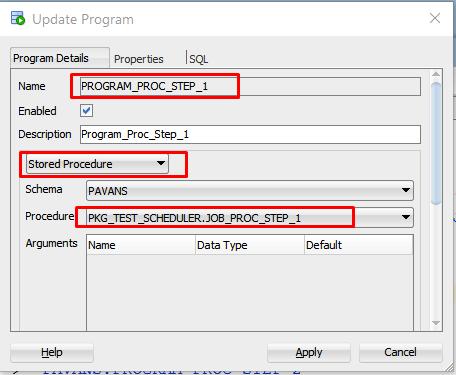Oracle Scheduling dba_scheduler_jobs View