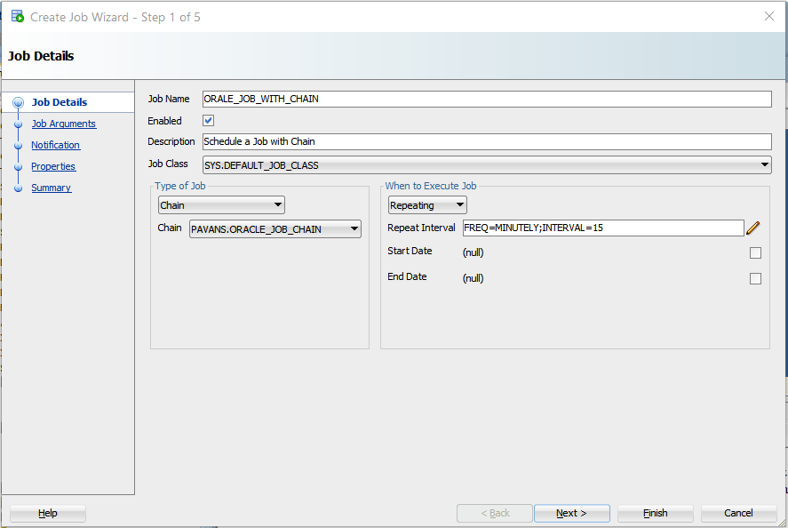 Oracle Job Scheduler Guide With Examples - Part II - opencodez