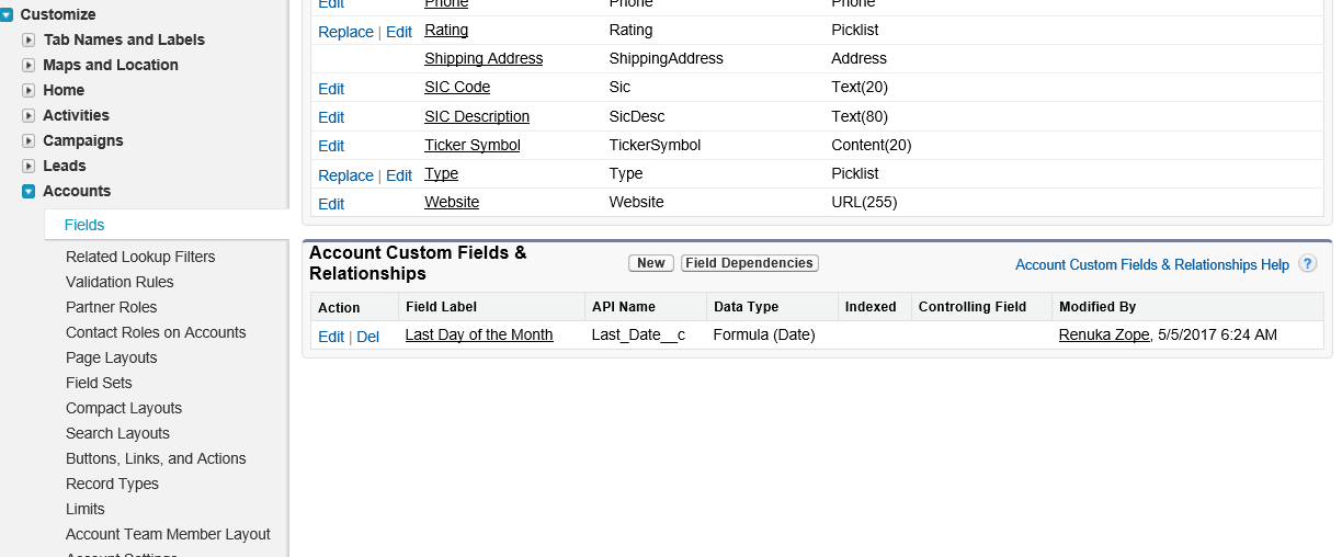 Salesforce Tutorial# 5: Object Relationships and Formula Field in