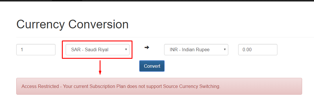 Currency Conversion App in Java - opencodez