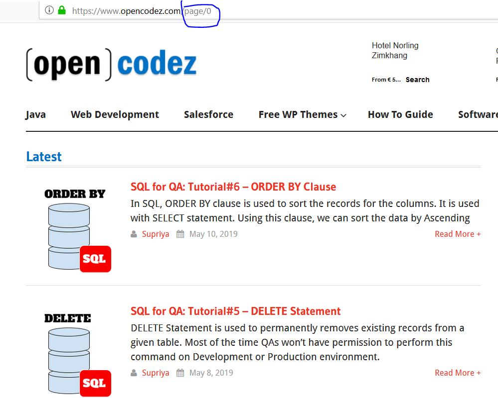 Web Scraping Using Beautiful Soup - Part 1 - opencodez